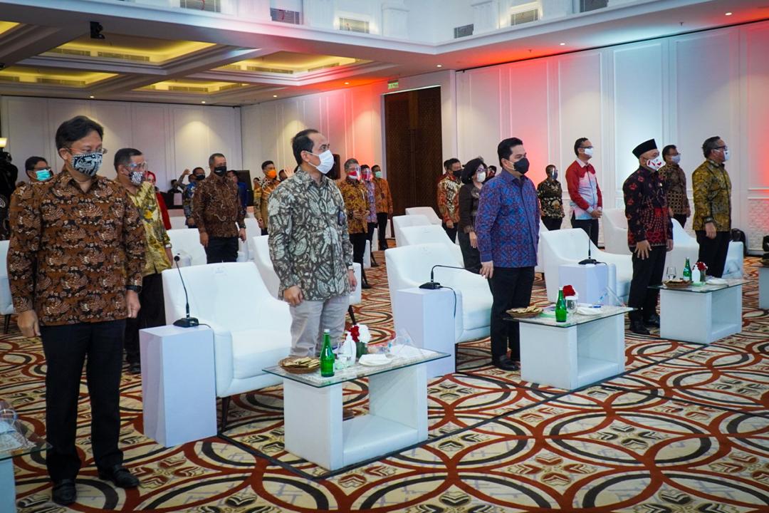 Kementerian BUMN merilis secara resmi Pasar Digital (PaDi) UMKM