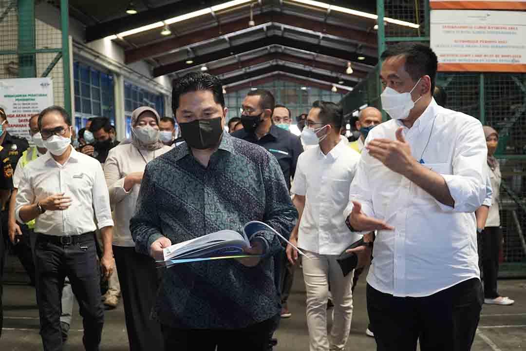 Indonesia kembali menerima sekitar 8 juta dosis vaksin bentuk bulk produksi Sinovac hari ini Senin (31/5)