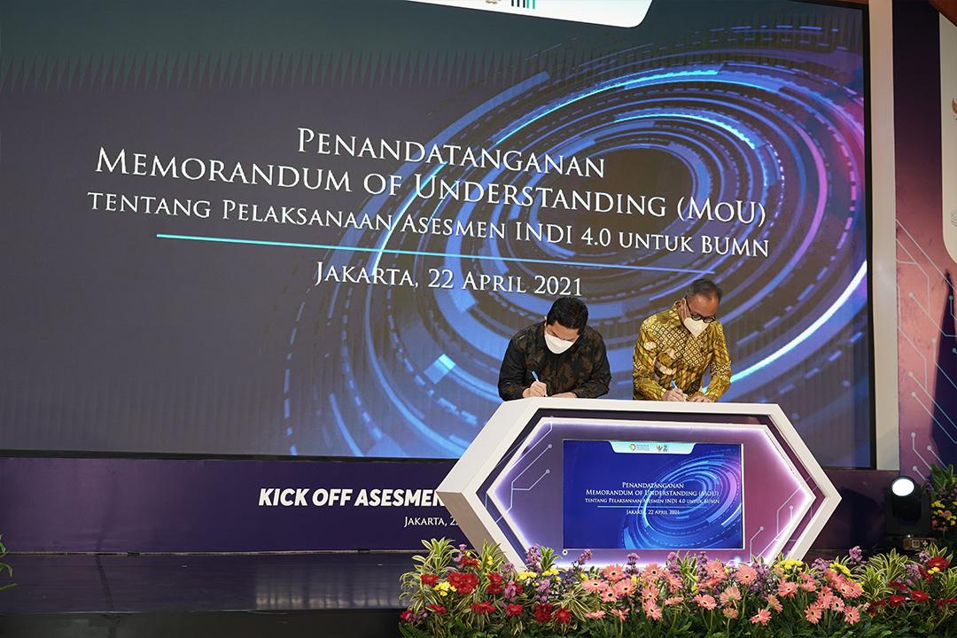 Indonesia Industry 4.0 Readiness Index (INDI 4.0) untuk BUMN