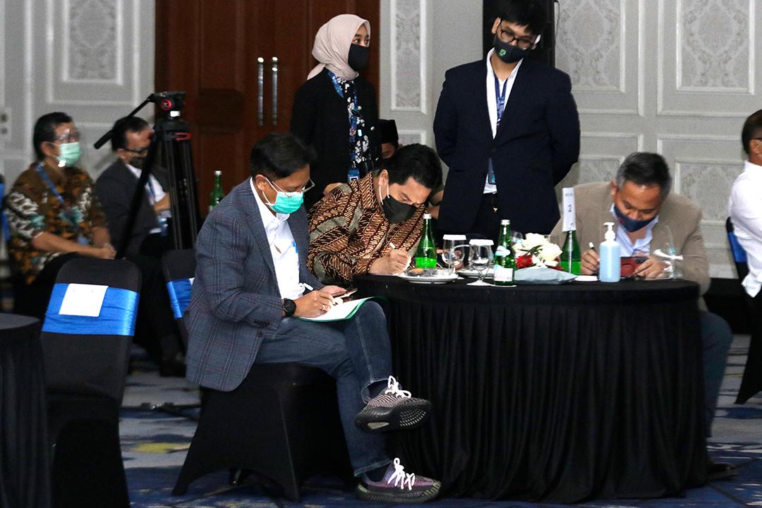Menteri BUMN hadiri Millenial Summit 2020