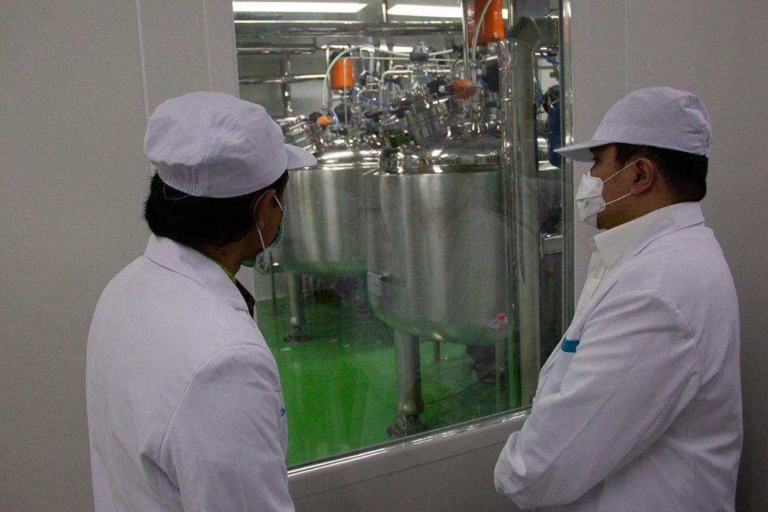 Kunjungan Menteri BUMN ke Bio Farma