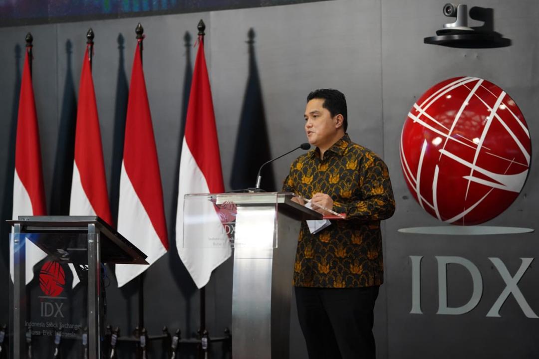 Penandatanganan Perjanjian Kerja Sama Antara MES dan BEI