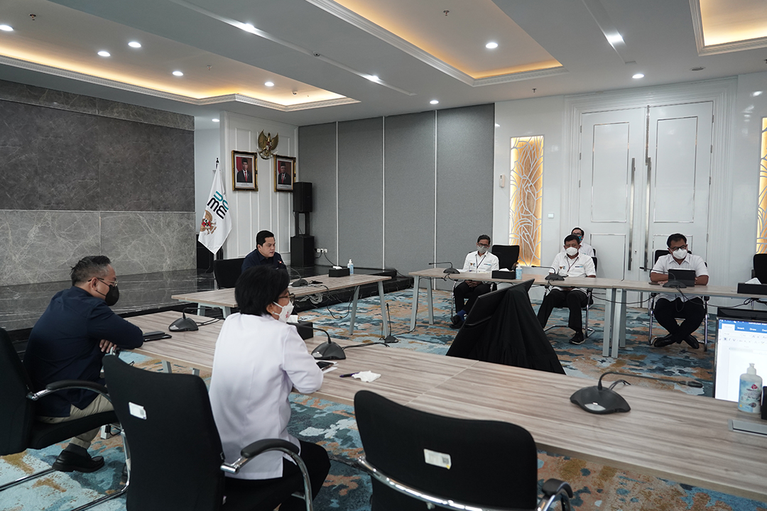 Kementerian BUMN menunjukkan komitmennya mendukung UMKM lokal dengan menggelar acara Pasar Digital (PaDi) UMKM Virtual Expo 2021.