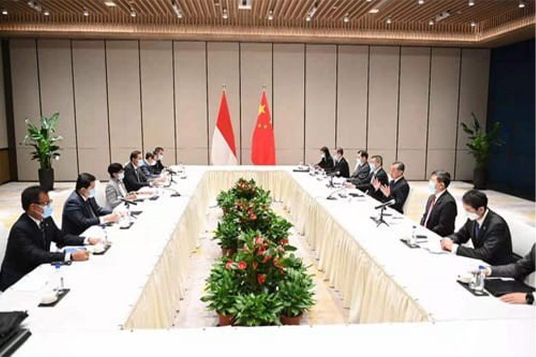 Menteri Badan Usaha Milik Negara (BUMN) melakukan pertemuan dengan Vice Chairman dari State-Owned Asset Supervision and Administration (SASAC)