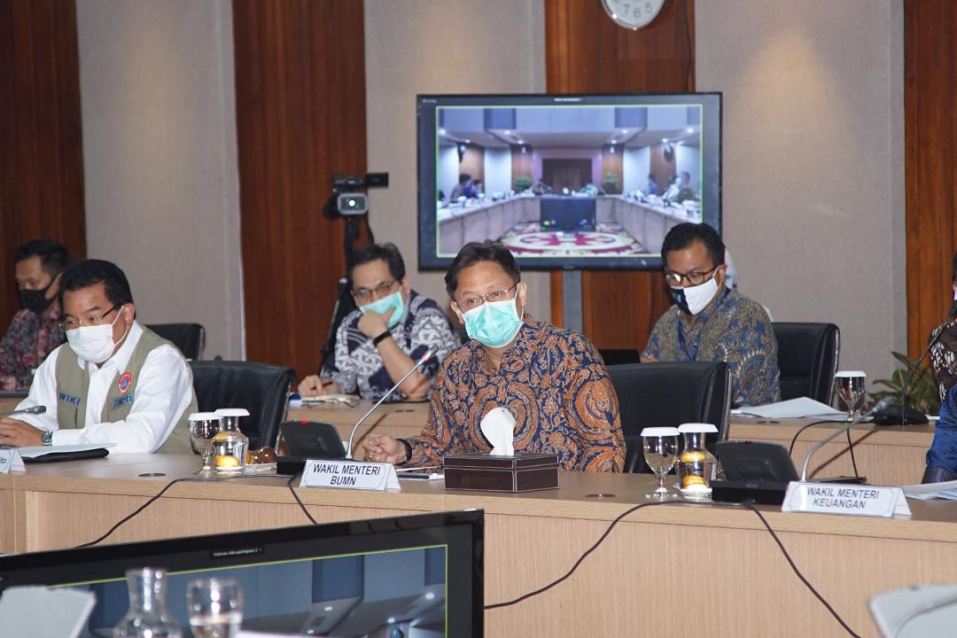 Selasa (21/7), Komite Penanganan Covid-19 dan Pemulihan Ekonomi Nasional menggelar rapat perdana