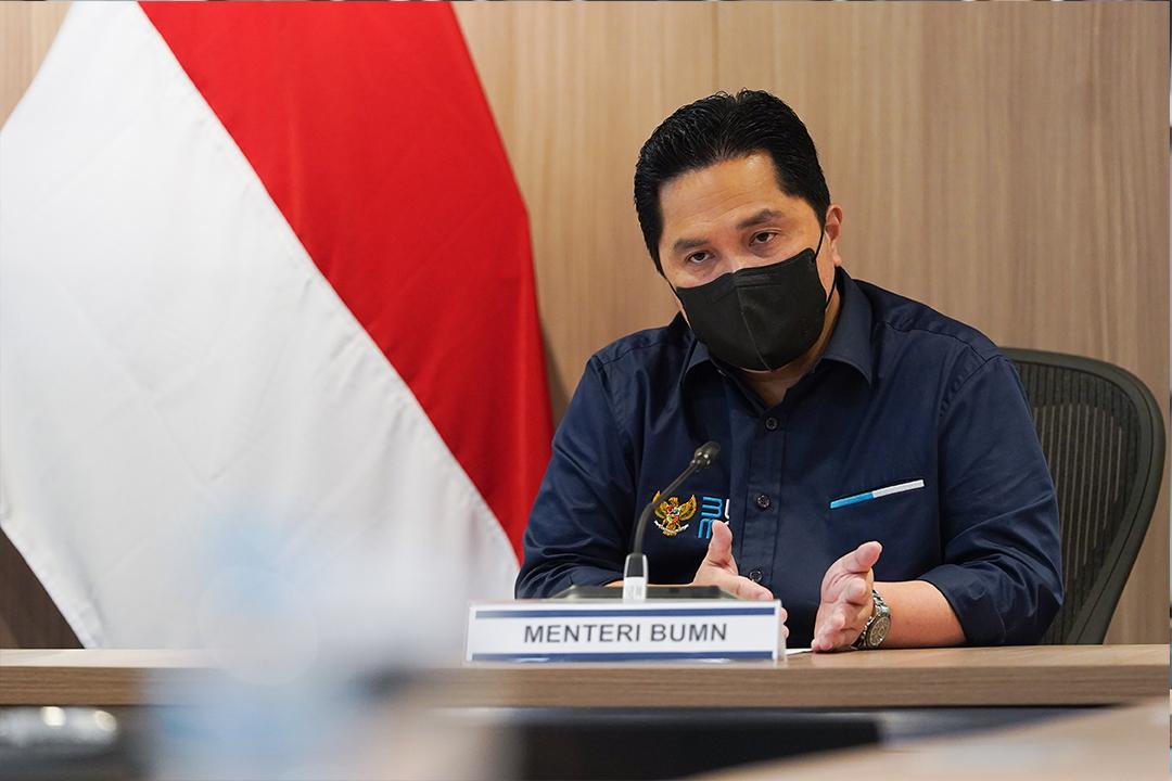 Konferensi Pers Menteri BUMN dengan Dirut Garuda Perihal Garuda Indonesia