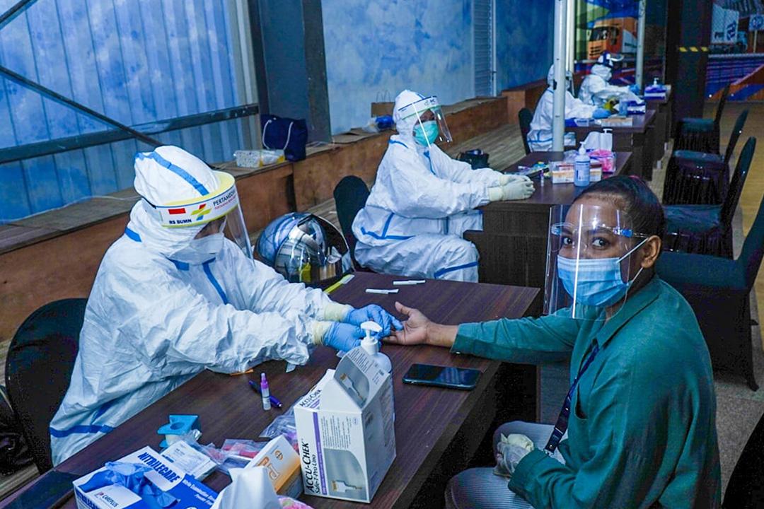 Kementerian BUMN kembali mengadakan rapid test kepada seluruh pegawai yang berada di lingkungan kantor Kementerian BUMN pada hari ini, Rabu, 26 Agustus 2020