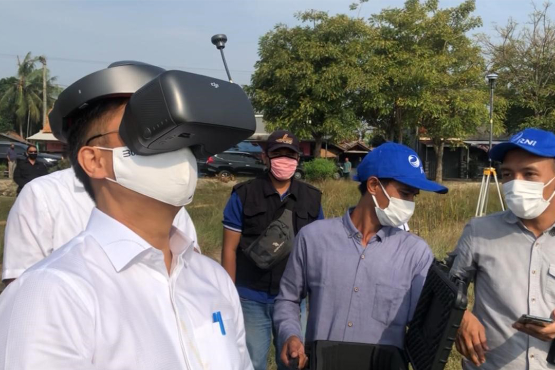 Kunjungan Wamen BUMN I Bp Budi Sadikin ke Sukamandi, Subang, Jawa Barat  pada Kamis (23/7/2020) untuk meninjau Pilot Project Food Estate 1000 Ha  yang merupakan sinergi PT RNI (Persero), PT Sang Hyang Seri (Persero),  PT Pupuk Kujang dan PT Pertani