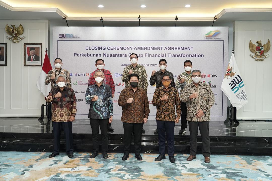 Restrukturisasi keuangan Holding Perkebunan Nusantara PTPN III (Persero)