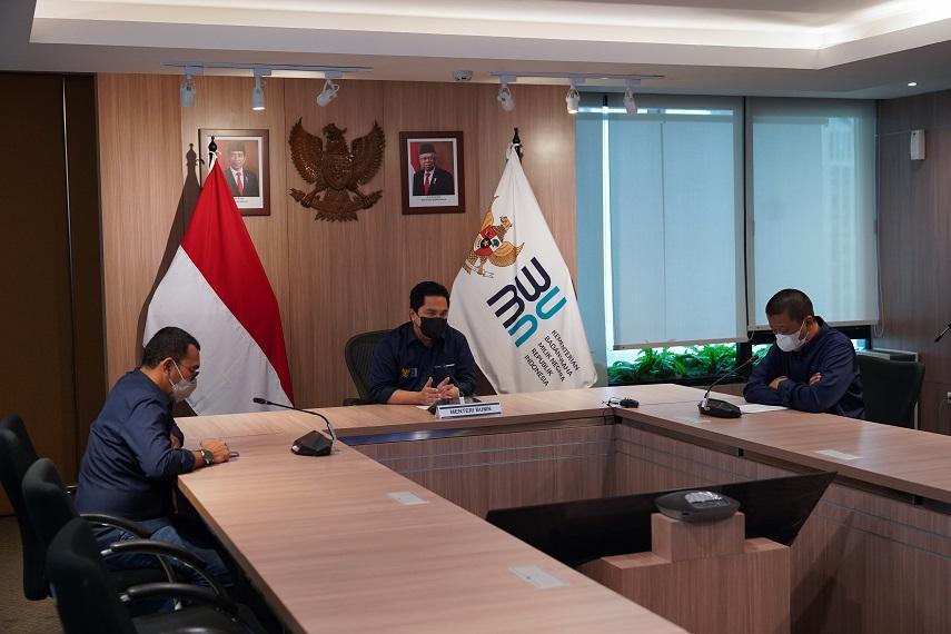 Kementerian BUMN Dukung Penuh  Langkah Garuda Indonesia Batalkan Kontrak Bombardier CRJ 1000