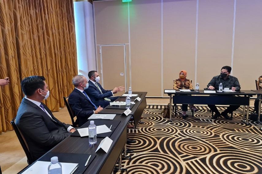 3 Agenda Penting Menteri Erick Thohir di Amerika Serikat