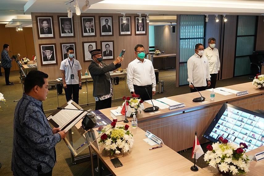 Pelantikan Pejabat Pimpinan Tinggi Madya dan Pratama di Lingkungan Kementerian BUMN