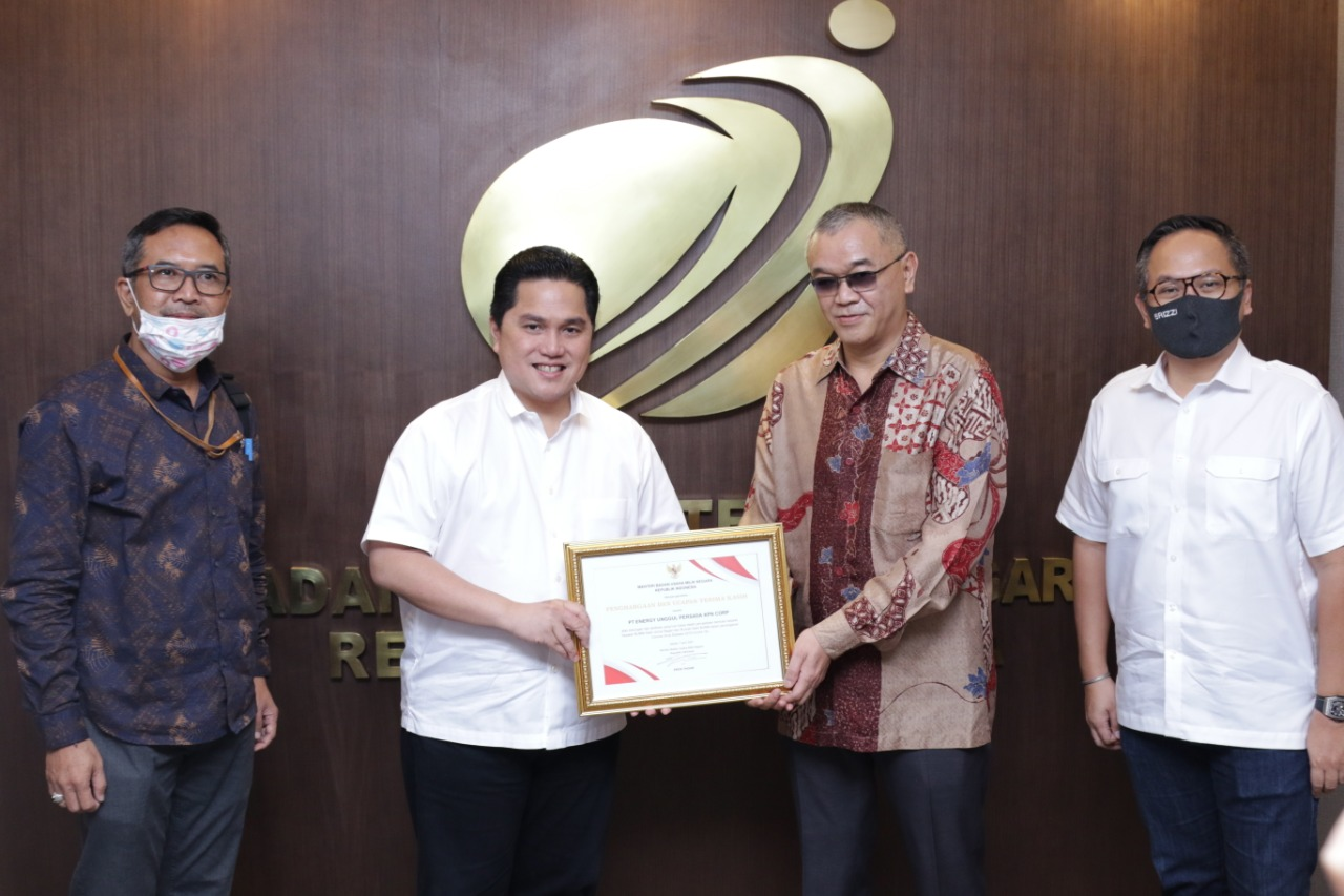 Yayasan BUMN Untuk Indonesia Terima Bantuan Dari Donatur