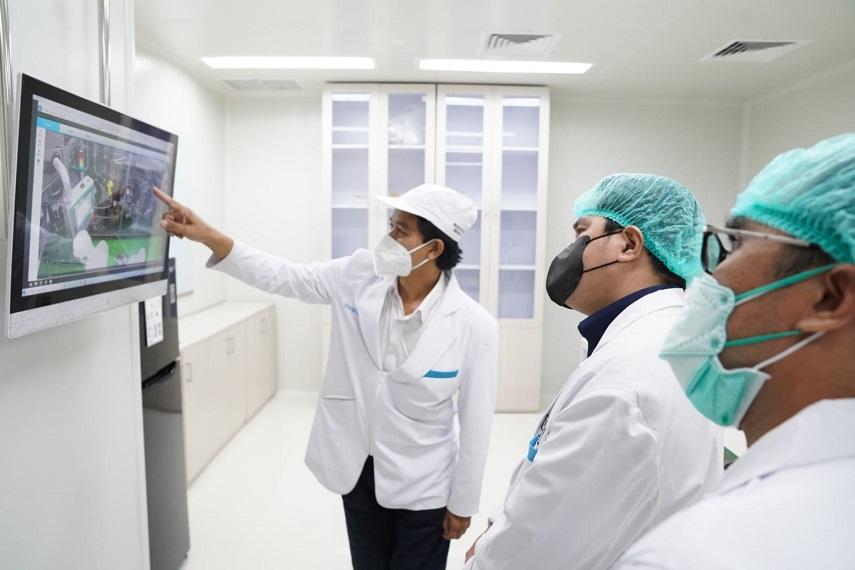 Erick Thohir Minta Biofarma Tingkatkan Produksi Vaksin Hingga Dua Kali Lipat