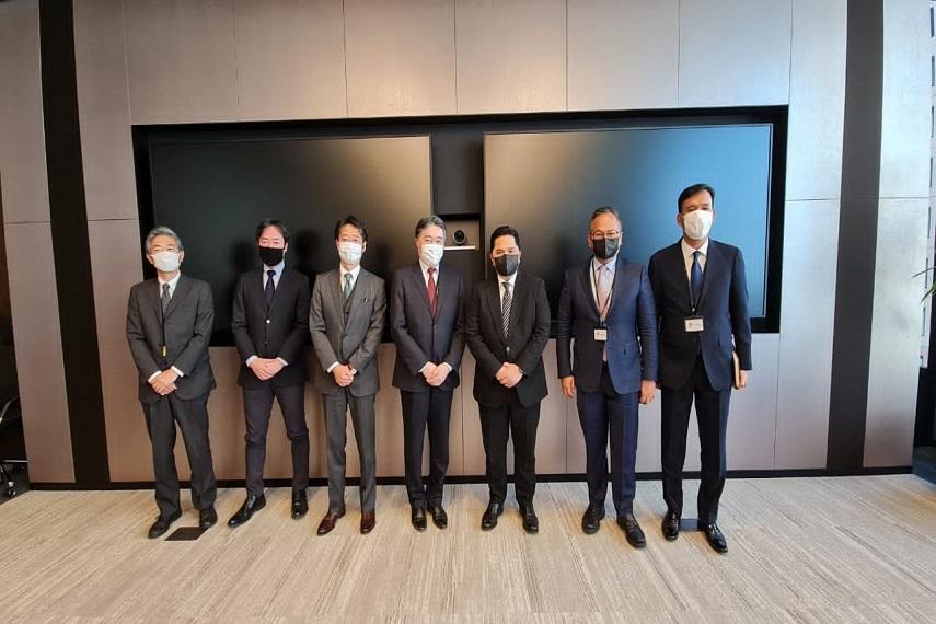 Menteri BUMN terus tingkatkan kerjasama dengan Jepang paska Covid-19