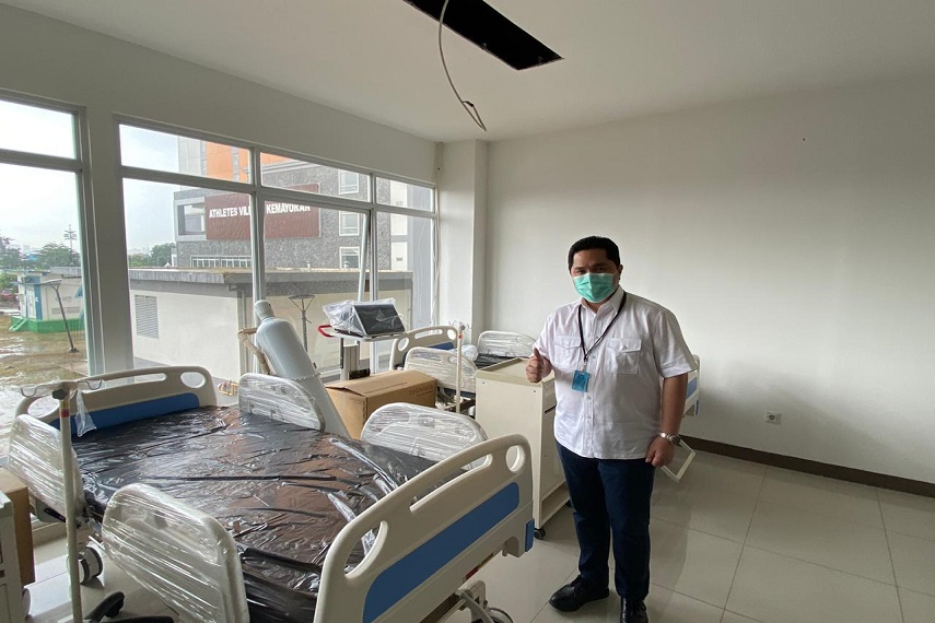 RS Darurat Penanganan Covid-19 Sudah Siap Beroperasi