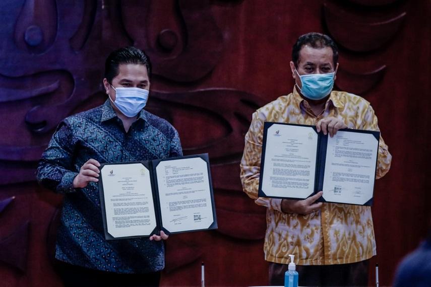 Kementerian BUMN Dukung Universitas Indonesia  Hasilkan Inovasi Untuk Indonesia