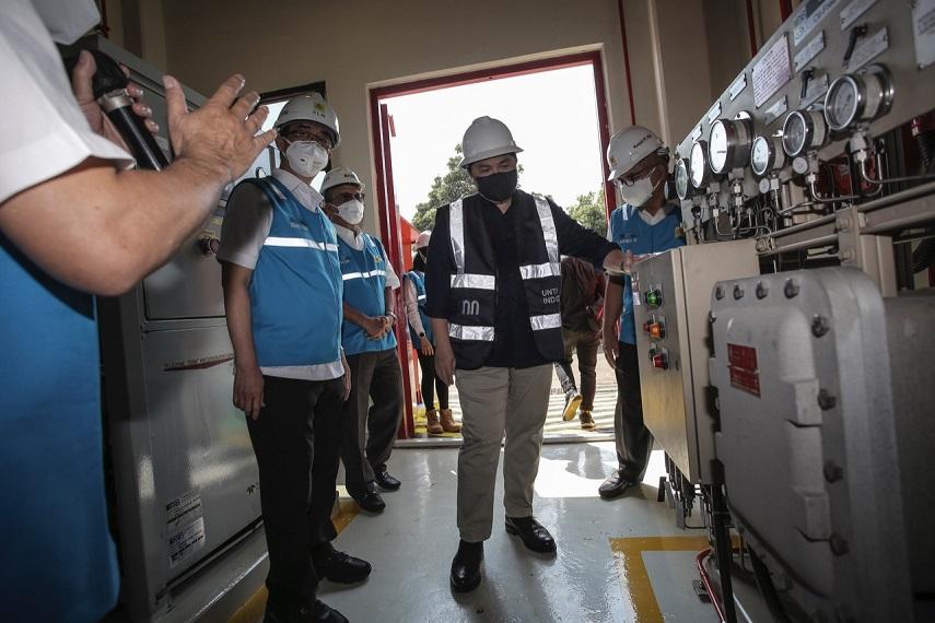 Menteri BUMN Erick Thohir Dorong Kesiapan PLN Produksi 2 Ton Oksigen Medis Per Hari