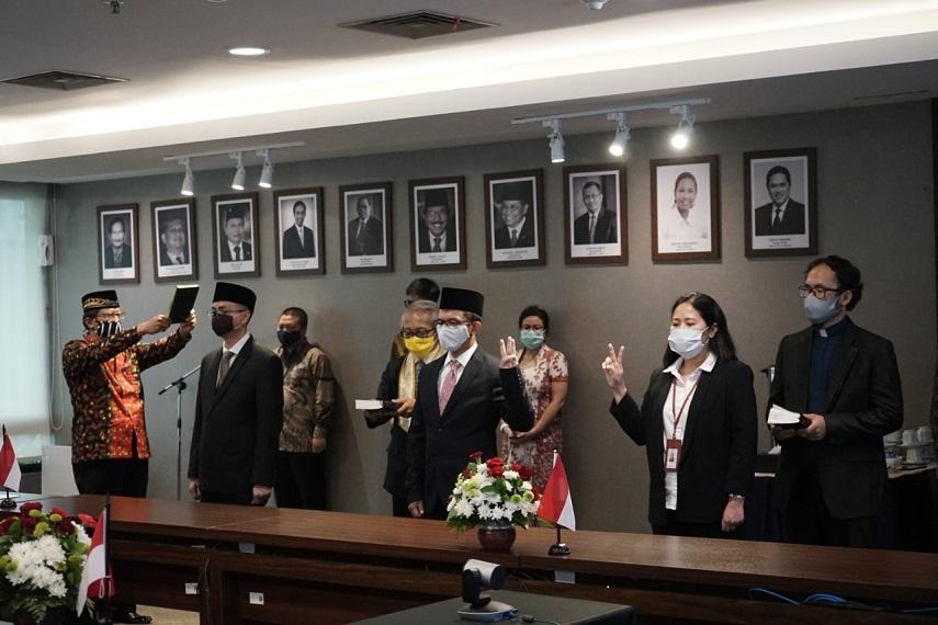 Menteri BUMN Lakukan Pelantikan dan Penataan Pegawai di Lingkungan Kementerian BUMN