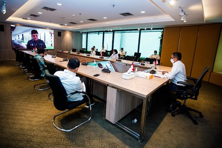 """Mendorong Perluasan Akses dan Kemitraan Bisnis,  Kementerian BUMN Gelar """"PaDi UMKM Virtual Expo 2021"""""""
