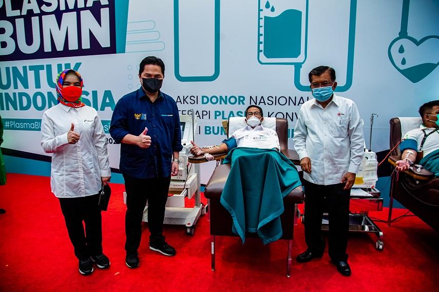 Kementerian BUMN Menginisiasi Program  Aksi Donor Nasional Plasma BUMN Untuk Indonesia di 34 Provinsi