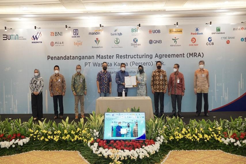 Kementerian BUMN Apresiasi Kesepakatan 7 Bank dalam Restrukturisasi Keuangan Waskita Karya Senilai Rp21,9 Triliun