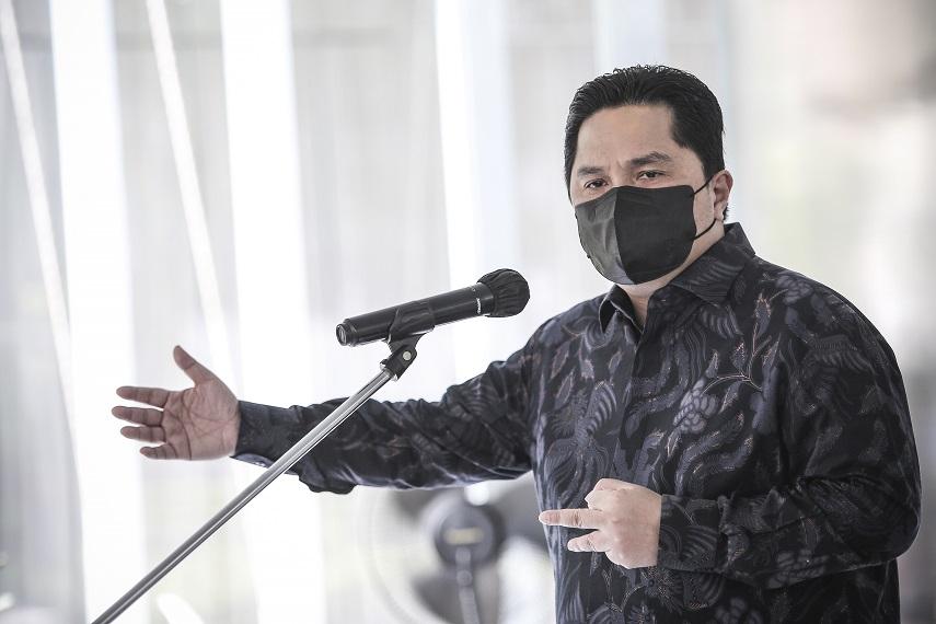 Menteri Erick Thohir: Vaksin BUMN, Terobosan Baru untuk Dorong Produksi Vaksin di Dalam Negeri