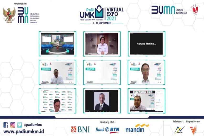 PaDi UMKM Virtual Expo 2021 Batch 2 Resmi Ditutup