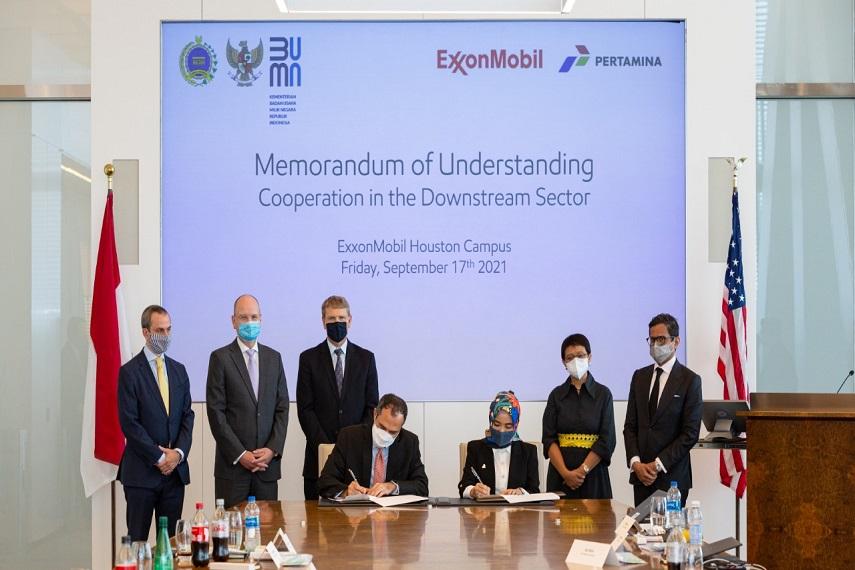Erick Thohir Sambut Positif Kerjasama Pertamina-ExxonMobil Untuk Antisipasi Transisi Energi Menuju Net Zero